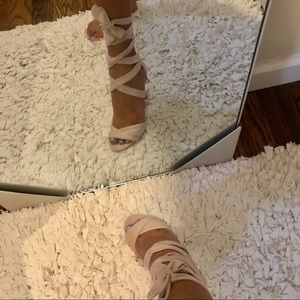 Aldo wrap up heels